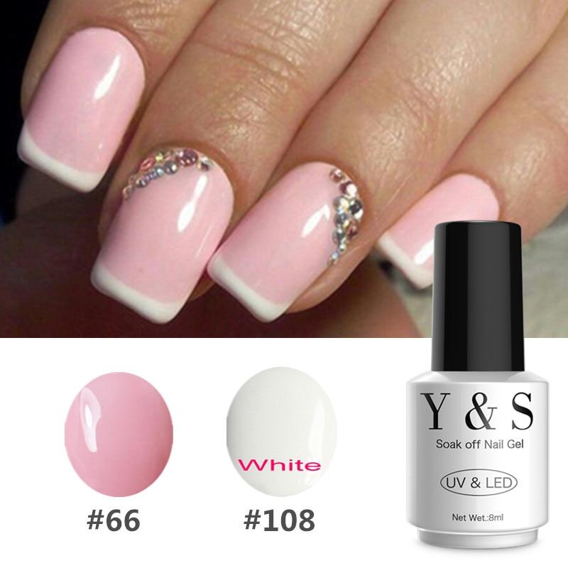 Aliexpress.com : Buy Y&S 2Colors DIY French Manicure Gel