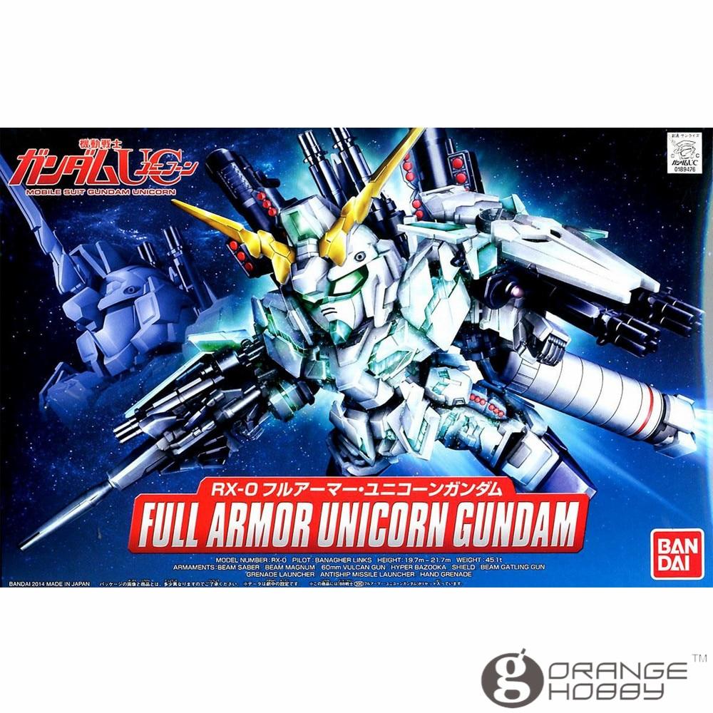 OHS Bandai SD BB 390 Q-Ver Full Armor Unicorn Gundam Mobile Suit Assembly Model Kits oh bandai bandai gundam model sd q version bb 309 sangokuden wu yong bian xiahou yuan battle