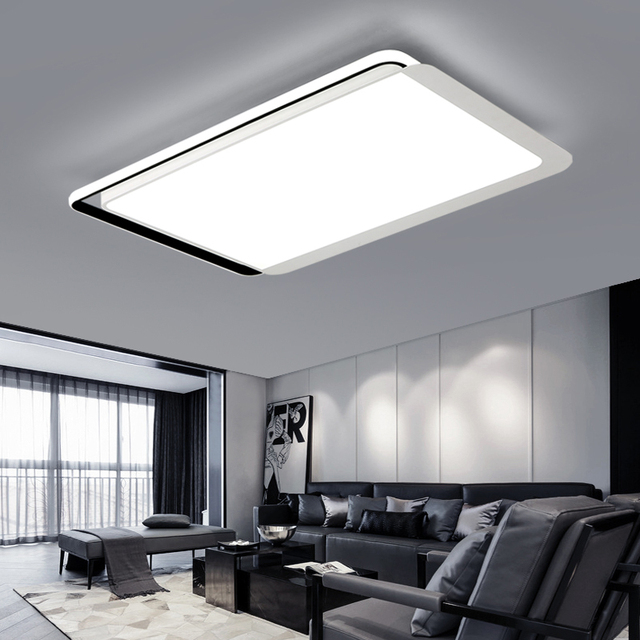 Led Modern Ceiling Lamps With Remote Control For Bedroom Ceiling ...