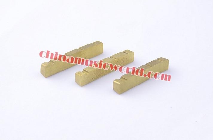 ФОТО Afanti High-grade Brass 4-string Top Bass Nut (AGN-030)