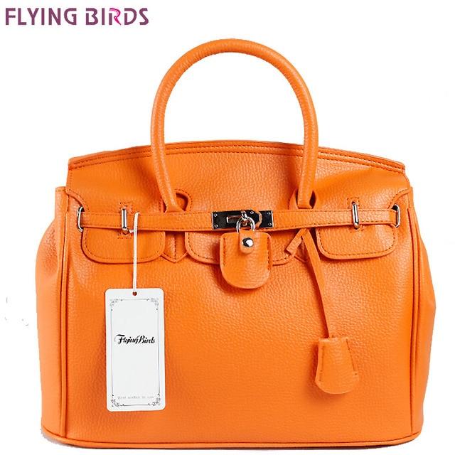 Flying birds moda bolso de las mujeres famosas marcas de lujo de las mujeres bolsos de hombro señoras de las mujeres del totalizador bolsas nuevo llega he002