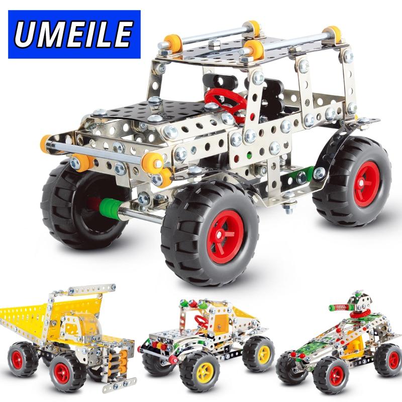 UMEILE marca 3D rompecabezas de Metal todoterreno vehículo ensamblar  tornillos juguetes construir modelo de juego - Memang Store 24c0022a1c5ce
