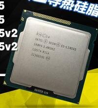 Четырехъядерный процессор Intel Xeon 1155 V2, 3,4 ГГц LGA 1245 8 Мб E3 1245 V2 SR0P9 V2