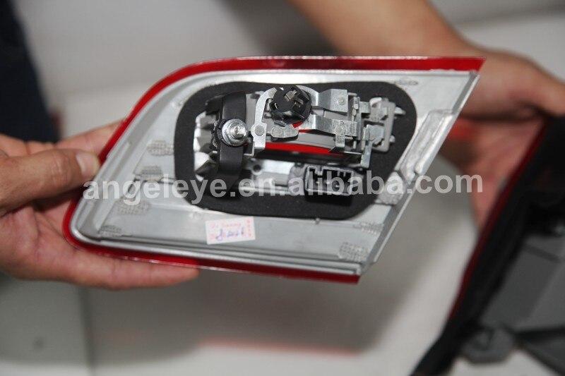 Для BMW X5 E53 Светодиодные ленты задние фонари заднего лампа подсветки 1998 2002 год красного цвета JY