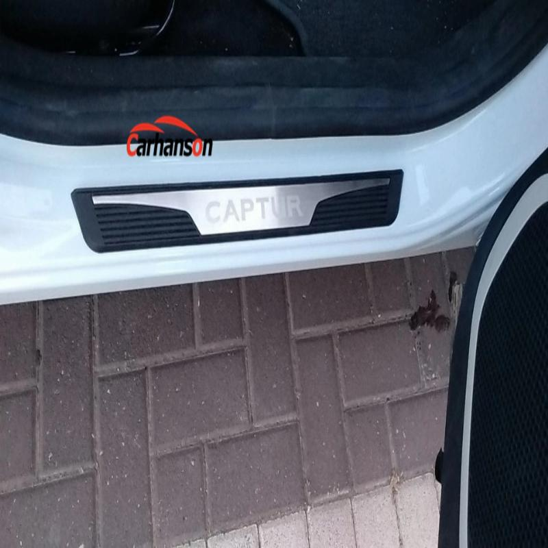 Para acessórios Renault Captur 2015 2019 Peitoril da porta - Peças auto - Foto 5