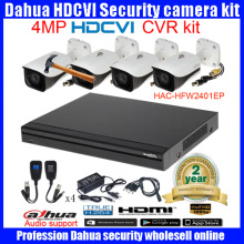 Original English DAHUA 4MP VANDALPROOF CAMERA HAC-HFW2401E cvi dome camera with 4MP Digital CVR DH-HCVR7116-4M camera kit