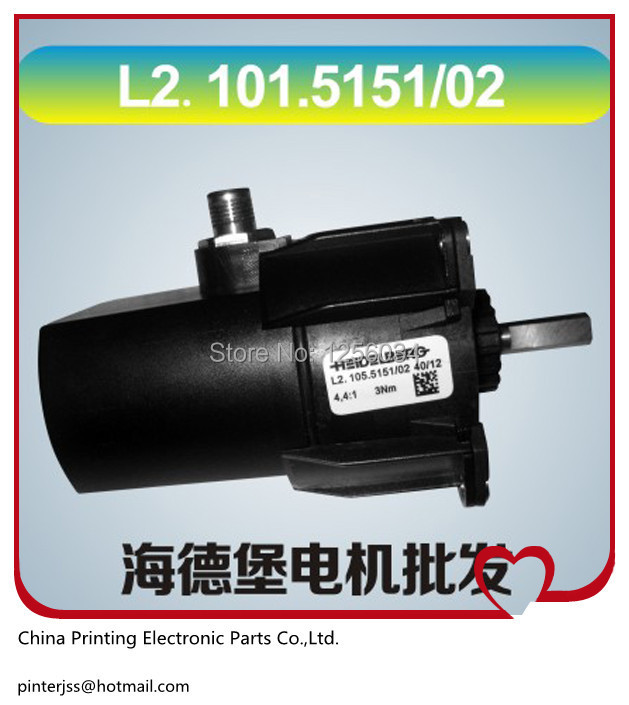 FREE SHIPPING 1 pieces high quality heidelberg electric drive motor L2.101.5151/02