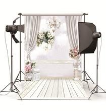 Фотография Indoor White Room Studio Photography Backdrops for Photo studio Photographic Backgrounds for Children Wedding Photo Shooting