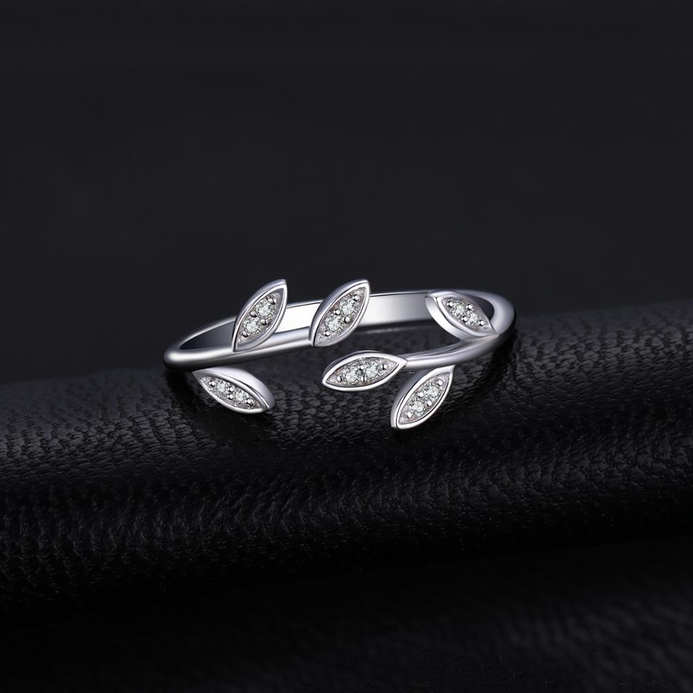 CZ Rings 925 Sterling Silver Rings for Women Open Stackable Ring Band Silver 925 Jewelry Fine Jewelry