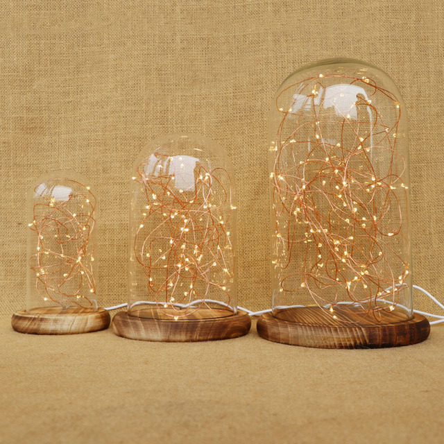 Bell Glass Copper Lamp Price
