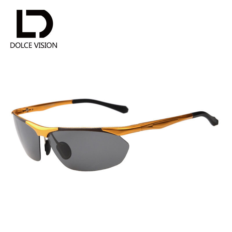 DOLCE VISION font b Fashion b font Men font b Polarized b font Sun glasses Night