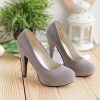 ультра туфли на каблуках женщин красный свадебные туфли тонкие каблуки одного туфли черный нубук с низким уровнем верха обуви
