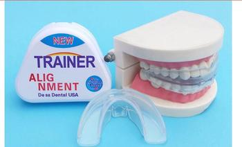 2018mrc NEW 1pcs trainer t4k Newest Version No Odor Teeth Braces Dental Tooth Orthodontic Appliance Trainer Alignment Tee