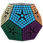 SHENGSHOU 8 capas Kilominx cubo negro-in Cubos mágicos from Juguetes y pasatiempos    1