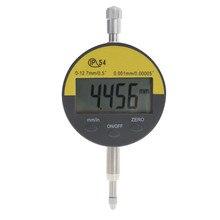 """0,01 мм Индикатор цифрового набора метр IP54 маслостойкий 12,7 мм/0,"""" Электронный микрометр карбида наконечник Калибр для точного измерения с"""