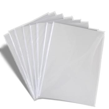 100 szt A4 błyszcząca naklejka winylowa 100 szt A4 matowa naklejka winylowa 100 szt A4 RC papierowa tekstura płótna tanie i dobre opinie colormaker single side printable inkjet printer carton package glossy surface Papier fotograficzny white top grade paper