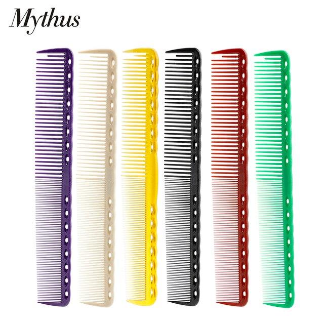 Profesional 1 PC Mythus Durable peluquería peine pelo 19 CM pelo peluquería peine en Material de resina corto peluquería peine