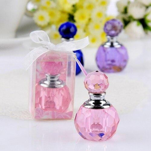 Luxe parfumflesje kristal voor bruiloft Bomboniere cadeau 100st - Feestversiering en feestartikelen - Foto 4