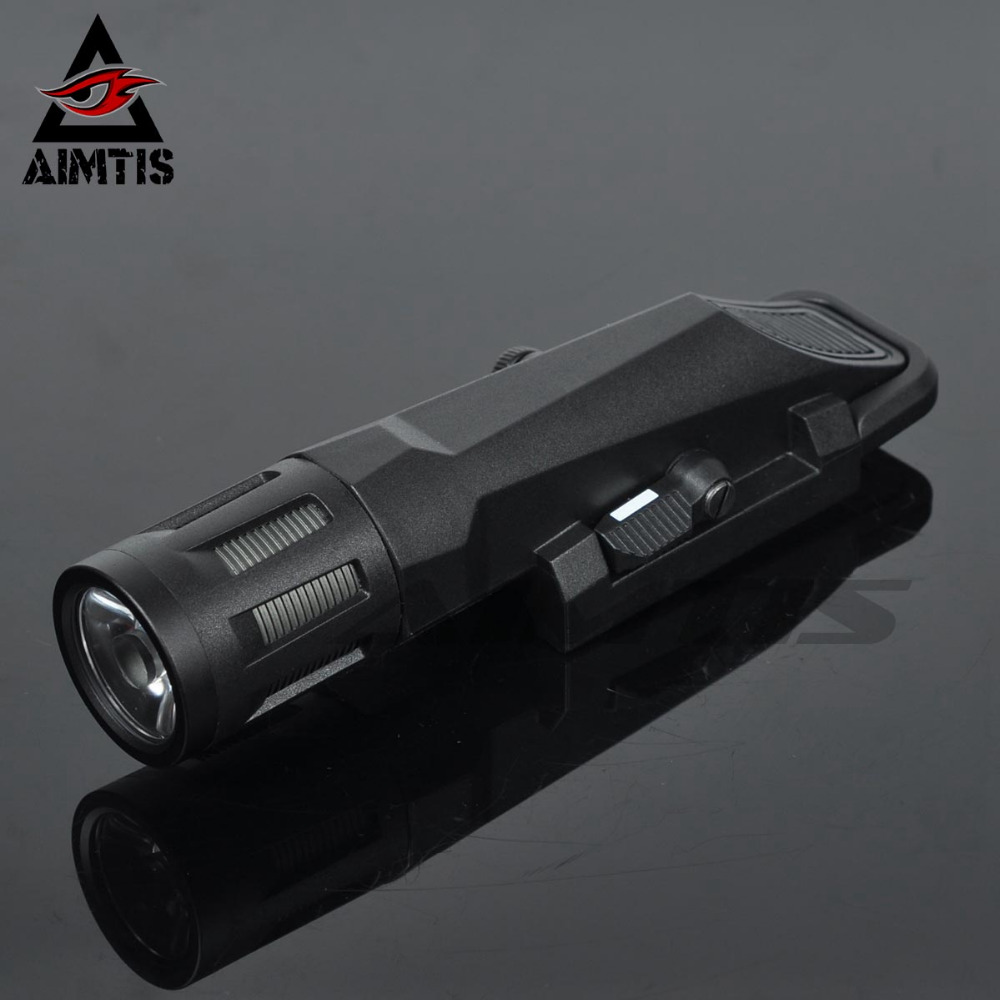 Enhanced Edition WML Tactical Weapon Light Inforce Rifle Flashlight Fit 20mm Weaver Picatinny Rail For Hunting Scout Lanterna greenbase tactical m300 m300b mini scout light outdoor rifle hunting flashlight 400 lumen weapon light led lanterna
