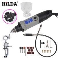HILDA 400W Mini Dremel Rotary Tool Grinder Grinder Electric Variable Speed Drill Demolition Tool Dremel Style