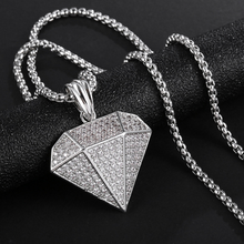 Exaggerate Pendant Necklace Women Men Creative Hip Hop Hipsters Geometric Lovers Chain Party Collar Gifts