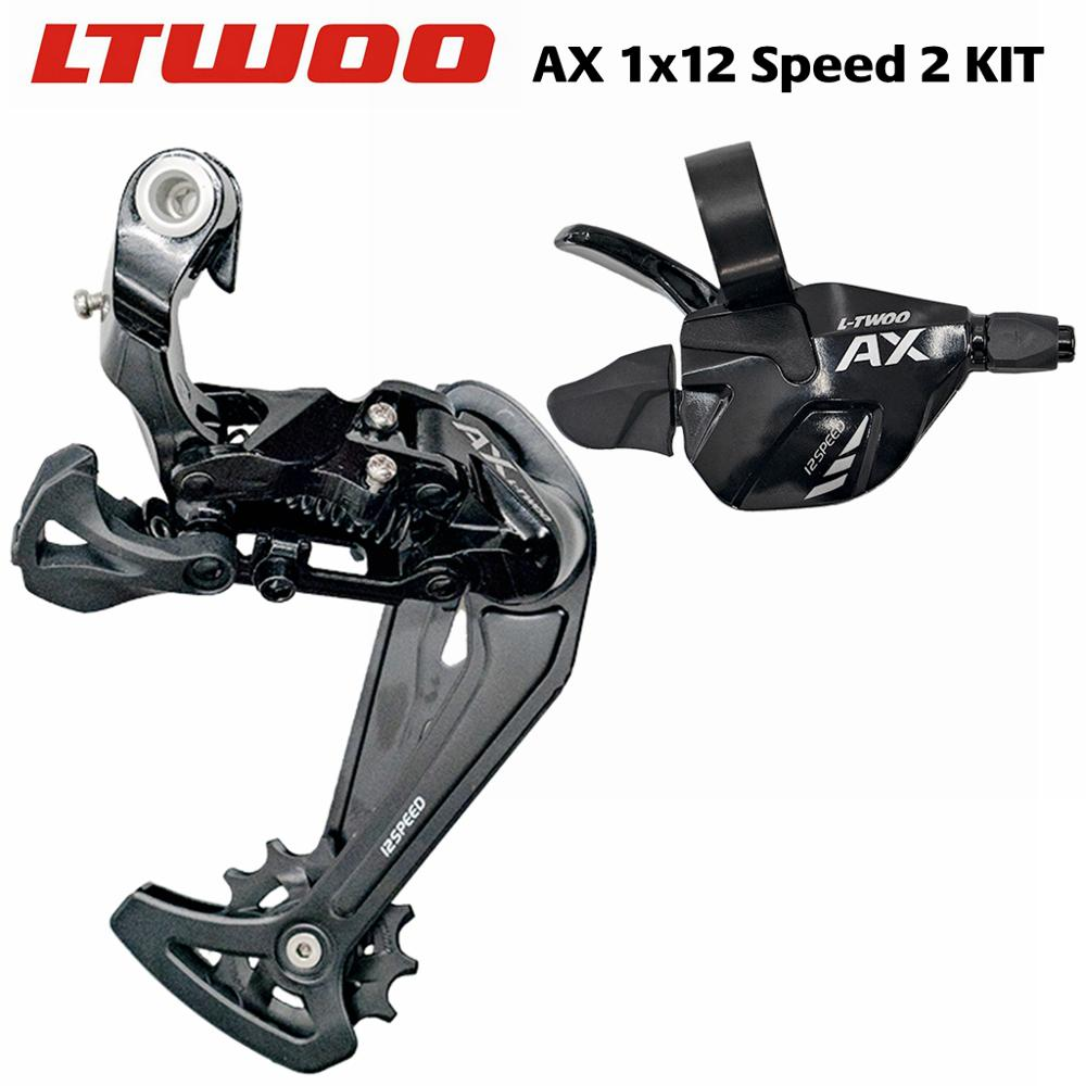 LTWOO AX 1x12 Speed Trigger Shifter + Rear Derailleurs MTB Bike Compatible With 12S 52T Cassette PCR BEYOND EAGLE <font><b>M9100</b></font> image