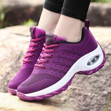 Women sneakers 2019 new breathable mesh female tennis sneakers light sports wome