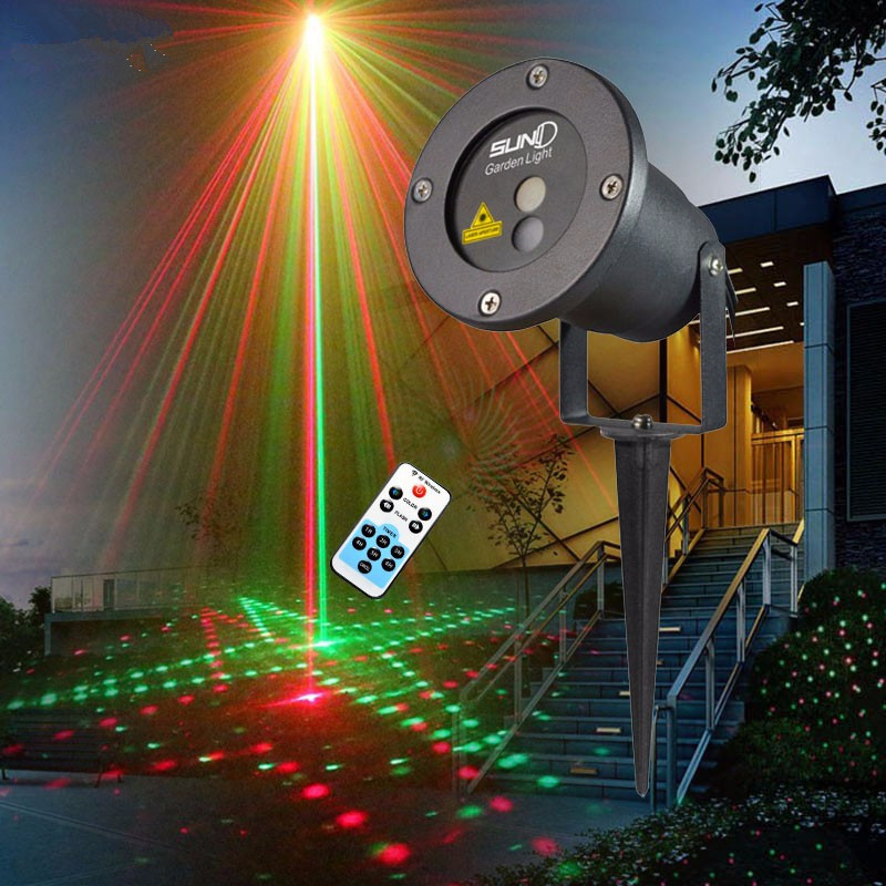 gobo projector logo projector outdoor waterproof ip65 12w 20w 40w 80w spinning laser pointer disco stage light party pattern 20 Renderings Laser Light Outdoor Waterproof IP65 IR Control Red Green christmas laser projector lamp Bar DJ party stage light