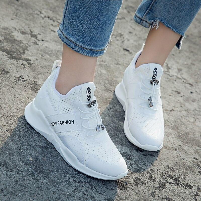 ZENVBNV Women Sneakers Vulcanize Shoes Air Mesh Tenis Feminino Fashion Summer Ladies Casual Shoes Women Lace-Up Footwear Shoes
