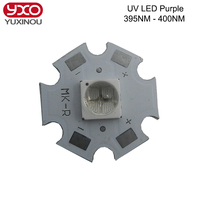 1PCS UV LED Diode 12W Ultraviolet LED Chip Cree High Power Led Emit For Curable Sterilize