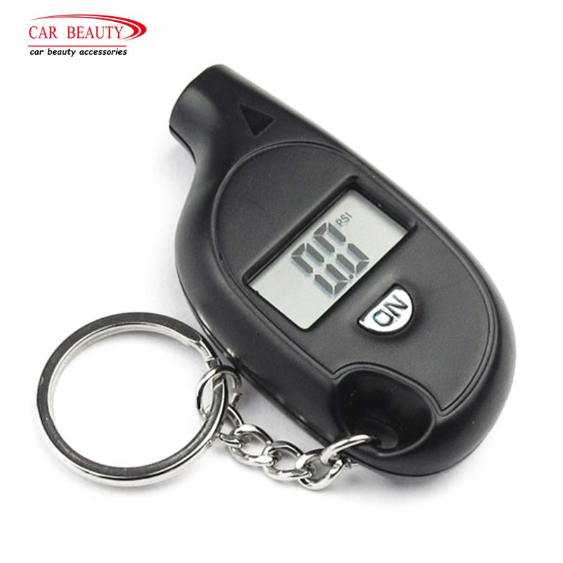 Mini Portable Digital LCD Tire Pressure Gauge Tire Gauge Wheel Tire Air Manometer Tester Auto Tool Vehicle Motorcycle Car