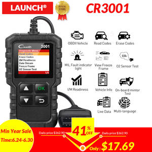 LAUNCH CR3001 PK CR319 AD310 ELM327 Scan tool X431 OBD2 Scanner OBD 2 Engine Code