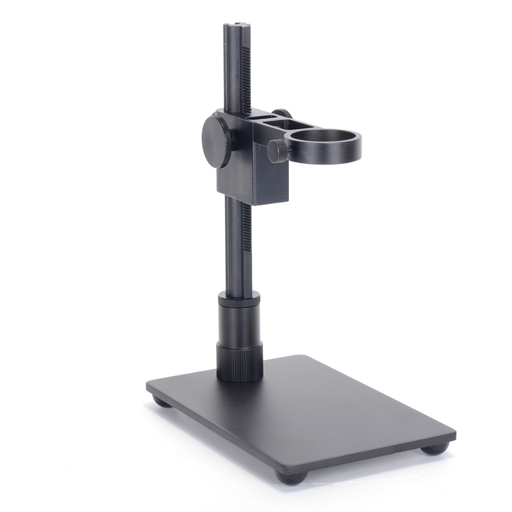 HAYEAR Portable Aluminum Alloy Arm USB Microscope Stand Holder Bracket Mini Foothold Table Frame For Microscope Repair Soldering for most models aluminum alloy stand bracket holder lifting support for digital microscope suitable usb microscopes suitable