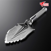 Zune Lotoo WolfThorn Hunter Carry On Folding Camping Shovel Casting Steel Outdoor Cool Equipment