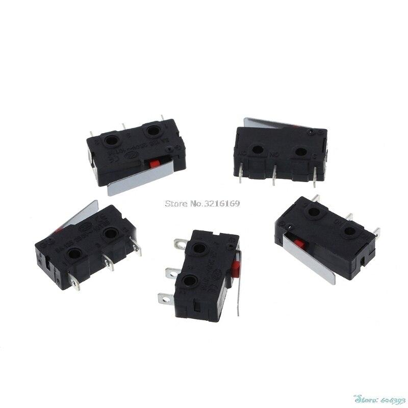 Для 5 шт./компл. путешествия концевой выключатель 3 Булавки n/o n/c 5A 250vac kw11-3z микро-переключатель продвижение