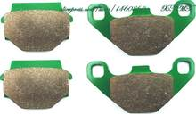 Rem Schoen Pads Set Voor Kawasaki Bj 250 C1-C7 Estrella-Rs 1999 2000 2001 2002/Kawasaki Kmx250 Kmx 250 1989 & Up(China)