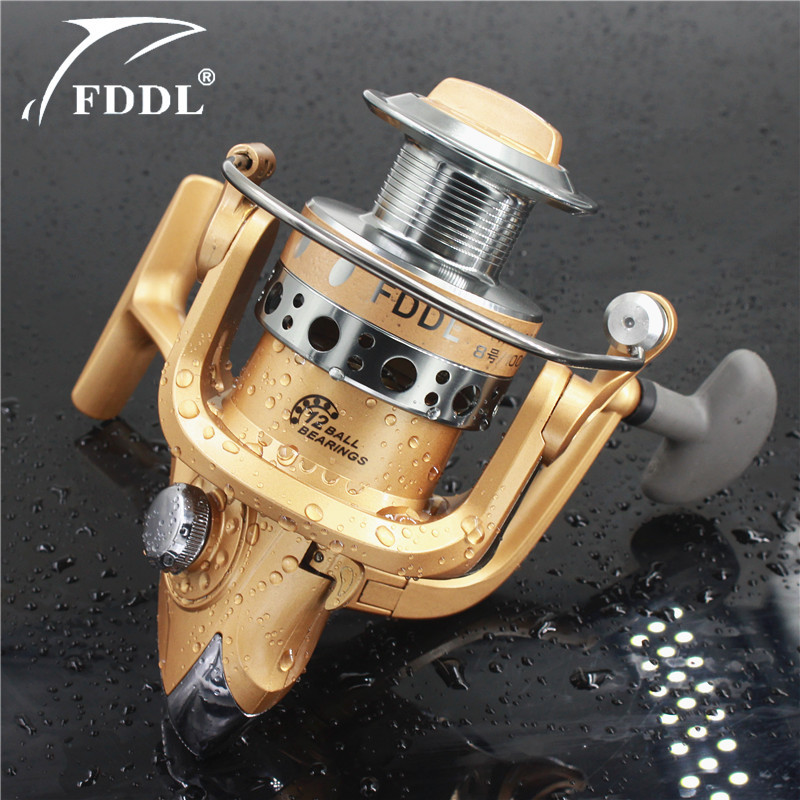 FDDL Fishing Reel Fishing Spinning Reel 12BB Carp Carperer Fishing - Pescando
