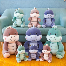 New Arrival Cute Cartoon Dionsaur Short Plush Toys PP Cotton Stuffed Animal Soft Doll Childrens Toy Gift