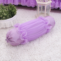 Korean style purple dream lace cushion wedding dress candy shaped pillow cushion core pillow cotton fabric