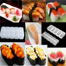 Japan Nigiri Sushi Mold Rice Ball 5 Rolls Maker Non Stick Press Bento Tool sushi tools