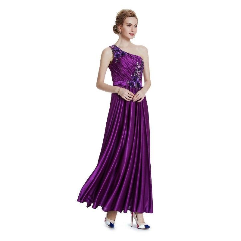W.JOLI 2017 Beading Appliques Long Evening Dress Brude Bankett - Spesielle anledninger kjoler - Bilde 3