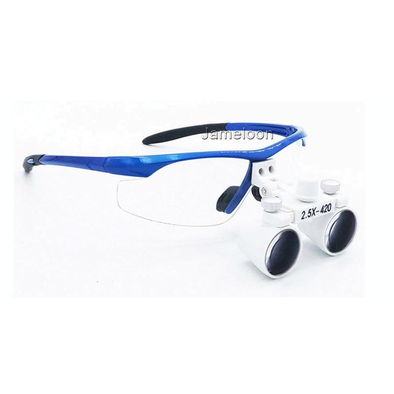 2.5X magnificar lupa dental equipo médico lupas antiniebla lentes - Instrumentos de medición - foto 2
