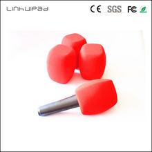 Linhuipad v97 4 см диаметр под заказ красный большой микрофон