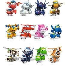 13 стилей, новинка, 7 см., супер крылья, игрушки, мини самолеты, трансформация, робот, фигурки, игрушки для малышей, игрушки для детей, подарок, Brinquedos