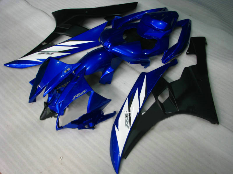 B YZF <font><b>R6</b></font> 2006 - 2007 07 Bodywork YZF <font><b>R6</b></font> 06 Blue Black for <font><b>Yamaha</b></font> YZF <font><b>R6</b></font> 06 07 Fairing Full <font><b>Body</b></font> <font><b>Kits</b></font> image