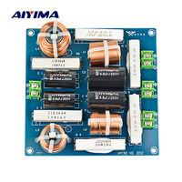 AIYIMA 3 Way 300W Frequency Divider Crossover Filter Home HiFi Amplifier Audio System KTV Stage Subwoofer Car Speaker Tweeter