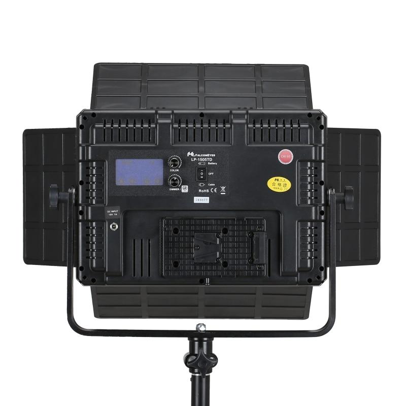 Falcon Eyes 2er LED Fotografie Video Panel Licht 75W zweifarbig - Kamera und Foto - Foto 3