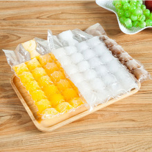 100 Pcs disposable ice-making bags Ice Cube Tray Mold Makes Shot Glasses Mould Novelty Gifts Summer Drinking Tool
