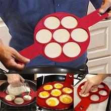 1 szt Silikonowa nieprzywierająca fantastyczna naleśnikarka do jaj pierścień pieczenie w kuchni omlet formy odwróć kuchenka pierścionek z jajkiem formy tanie tanio ATUCOHO Jajko i naleśnik pierścionki HEA-2015 Ekologiczne Ręcznie Jajko narzędzia Silikonowe Egg Pancake Rings Non stick pancake maker