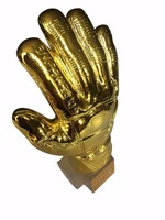 12 Height Soccer Football Resin GOALKEEPER Golden Glove Award Golden Goalkeeper Award Fans Souvenirs World